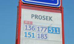 Autobusové linky na Proseku